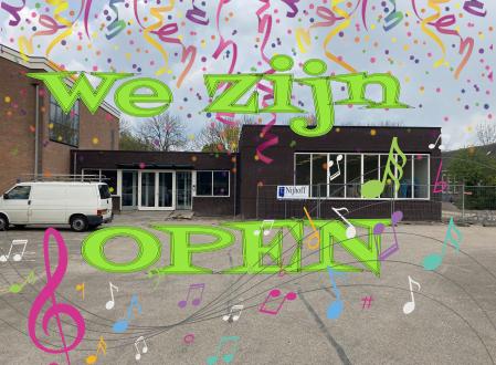De Muziekschool is open!